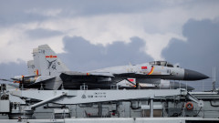Китай затваря Жълто море, провежда учения със самолетоносачи