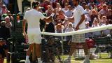 Първият полуфинал е: Роджър Федерер - Милош Раонич