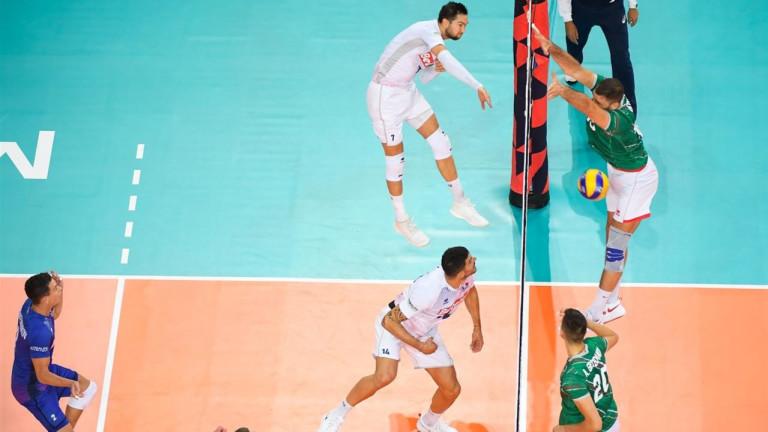 Националният отбор на България по волейбол допусна първа загуба на