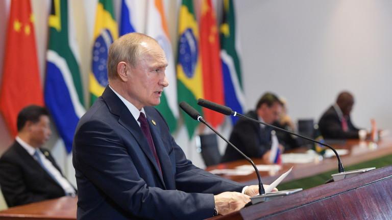 Руският президент Владимир Путин е изразил загриженост по време на