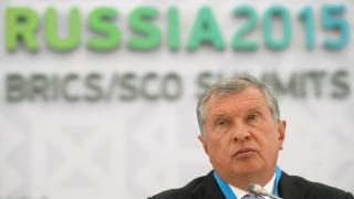 """Шефът на """"Роснефт"""" очаква ожесточена борба за пазарни дялове"""