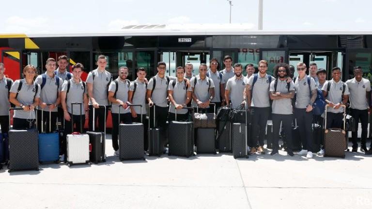 Снимка: Реал тренира в Канада, вижте групата на отбора