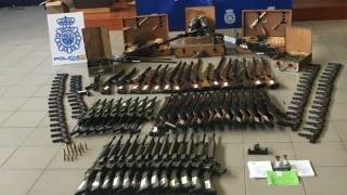 В Испания откриха оръжеен арсенал