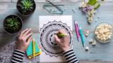 Цветовете, книжки за оцветяване за възрастни и ползите от тях