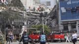 Пореден мощен трус люля Мексико, броят на загиналите се увеличава