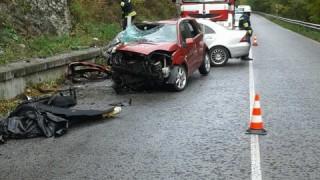 Двама души загинаха при тежка катастрофа на пътя Банско - Гоце Делчев