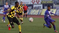 Етър изпусна Ботев (Пловдив) и остава последен в efbet Лига