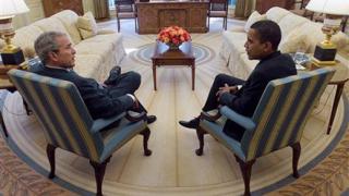 Буш събира на обяд Обама и трима бивши президенти на САЩ