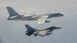 Тайвански самолети прогониха китайски изтребител