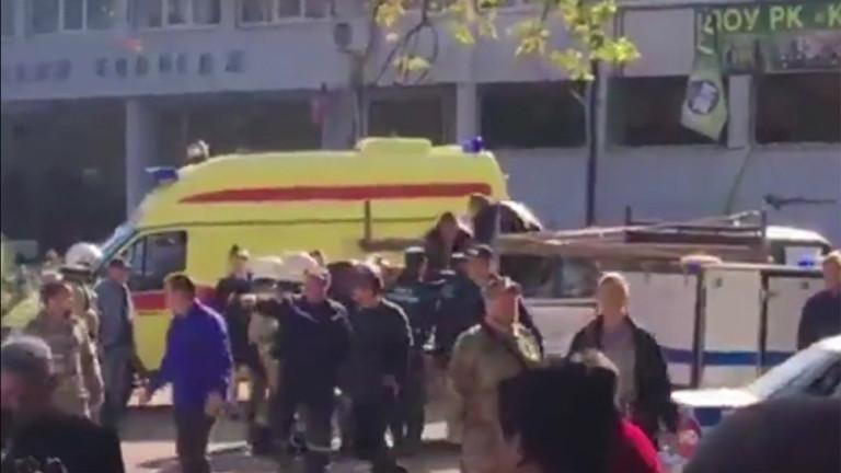 Експлозия в училище в пристанищния град Керч на Крим уби
