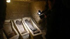 В Египет откриха фараонска гробница с 50 мумии