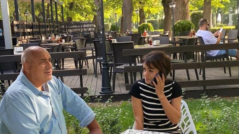 Слави Трифонов отстрани Росица Кирова - пила кафе с Борисов