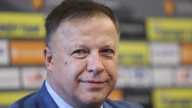 Изпълнителният директор на БФС Борислав Попов коментира какво следва да