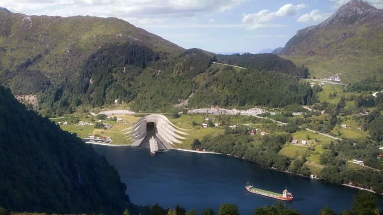 Норвегия одобри изграждането на първия плавателен тунел под планина в света