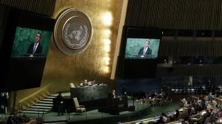 """Плевнелиев пред ООН: Да не приемаме тероризма като """"новото нормално"""""""