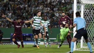 Барселона - Спортинг: 2-0