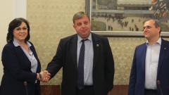Каракачанов чистил различия с Нинова за сектор Сигурност
