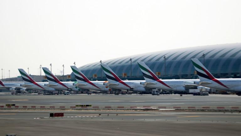 Международното летище в Дубай съобщи, че остава най-натовареното за международни