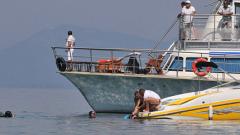 Кораб с българи потъна в Охридското езеро