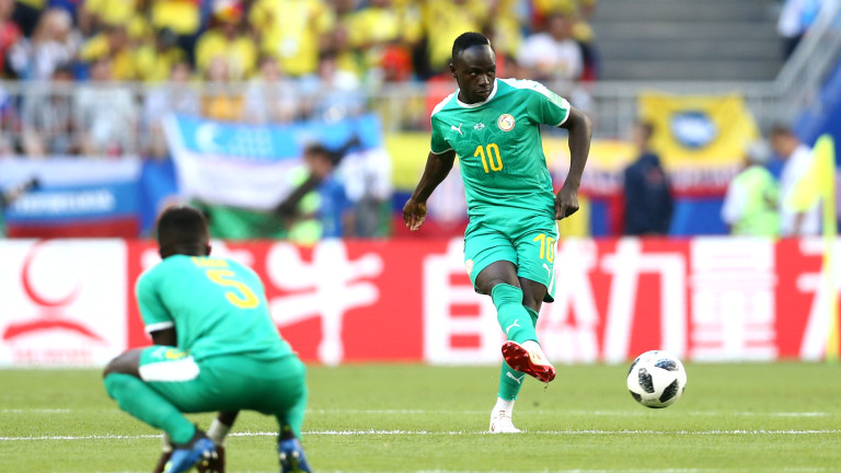 Националът на Сенегал Садио Мане се срина по време на