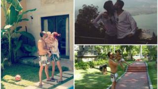 Илиян и Камелия се гушкат в Бали