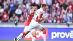 Славия Прага записа минимална победа над 10 от БАТЕ