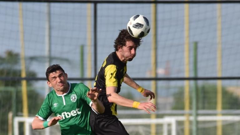 Кристиан Димитров бил таран в Ботев (Пд), имал един гол в 30 мача