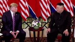 Няма вероятност Тръмп да се срещне с Ким Чен-ун преди преизбирането си