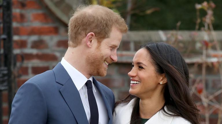 Принц Хари и американската му годеница Меган Маркъл ще се