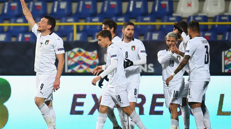 Италия идва с 3 отбора звезди за мача с България