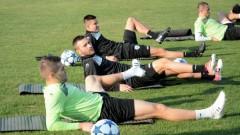 Черно море поднови тренировки, основен играч с контузия