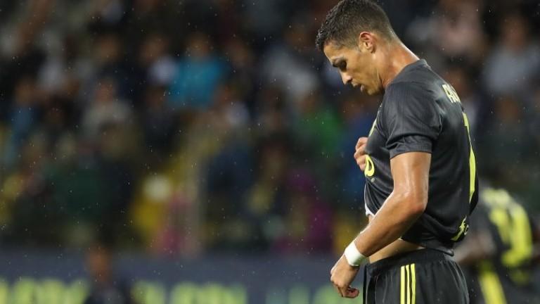 Медиите в Италия погнаха Кристиано Роналдо