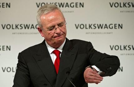 Шефът на Volkswagen хвърли оставка