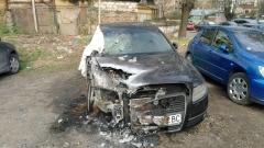 Задържаха отговорните за палежа на автомобили в петък