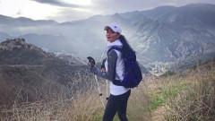 Никол Шерцингер се отдаде на планинарство