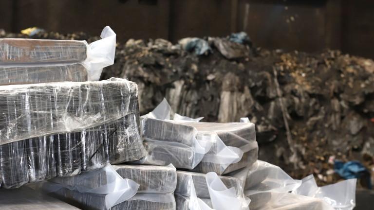 Холандската полиция разби най-голямата лаборатория за кокаин в страната. Лабораторията