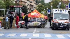 Катастрофа на ралито в Сан Марино