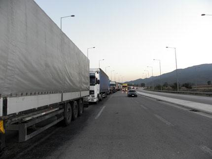 Тираджии блокират границата с Турция в понеделник