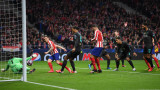Атлетико (Мадрид) - Ливърпул 1:0, Саул бележи