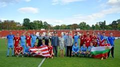 Юношите на ЦСКА разбиха отбора на Кралските военновъздушни сили на Великобритания