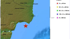 Земетресение с магнитуд 4 по Рихтер край Варна и Каварна