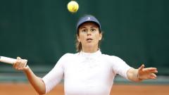 Дъжд бави началото на мача на Цвети Пиронкова