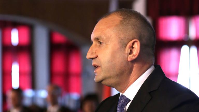 Радев: Субсидиите за партиите да се намалят, но не драстично