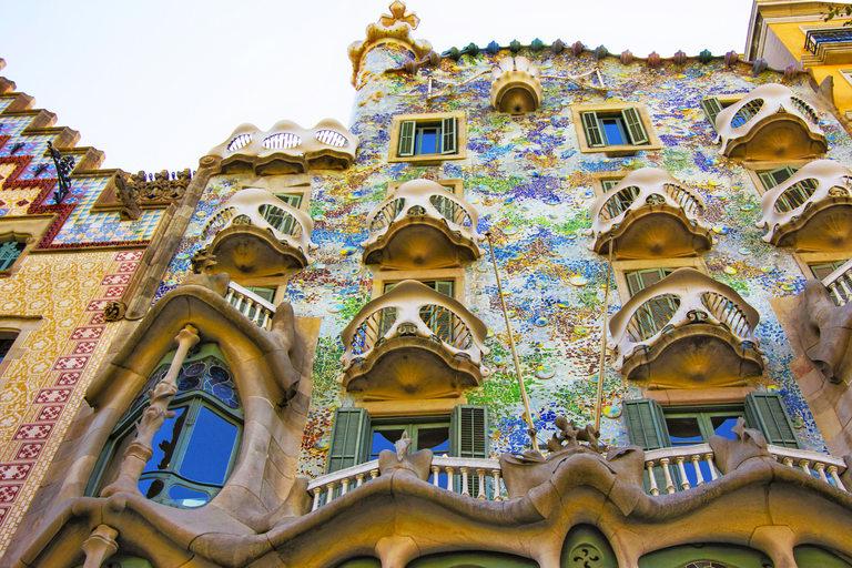 Casa Batlló отвън