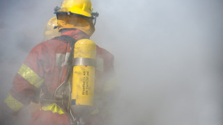 Избухна пожар в трафопост на предприятие в Стара Загора