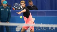 Адриан Андреев здраво изпоти Денис Истьомин, но отпадна от Sofia Open