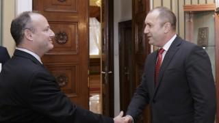 Румен Радев обсъди сигурността в региона с Ерик Рубин