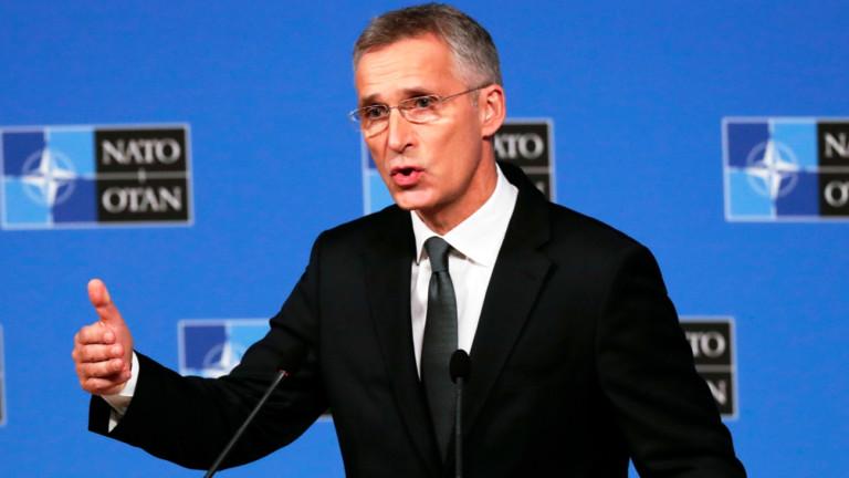 Генералният секретар на НАТО Йенс Столтенберг призова страните от алианса