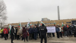 Временно блокираха международния път Е-79 към Дунав мост