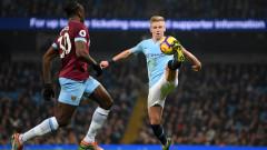 Манчестър Сити предлага нов договор на Олександър Зинченко